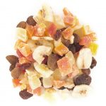 Pineapple, Raisins, Papaya, Banana chips