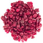 Dried sliced cranberry