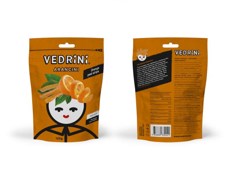Orange strips