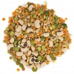 Green pea, Oatmeal, Black-eyed bean, Green lentil , Red lentil